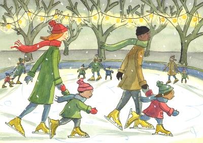 Ice Skating card p1