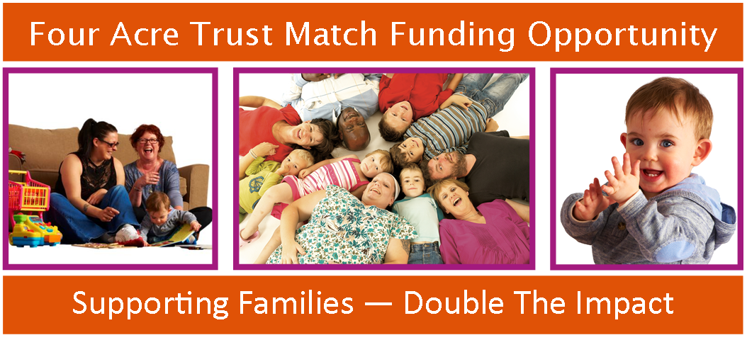 Four Acre Trust Photo and Text Banner